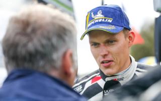 WRCラリーGB:タナック「パワーステージの激走はスウェーデン式」イベント後記者会見