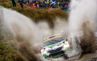 WRCラリーGB:WRC2Proはロバンペラがタイトルにリーチ