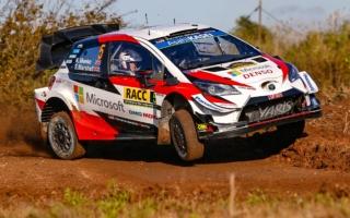 WRCスペイン:シェイクダウンはトヨタのクリス・ミークがトップ。勝田は5番手
