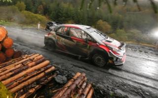 WRCラリーGB:競技2日目を終えてタナックが首位。トップ3は接近戦に