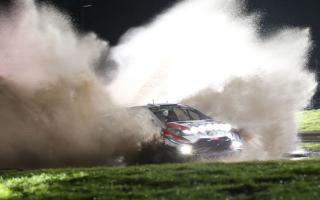 WRCラリーGB:オープニングステージでミークがトップタイム