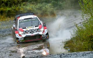 WRCラリーGB:デイ2、タナックが4本のベストタイムで首位。ミークは好調を維持し総合3位につける