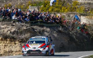 WRCスペイン:タナックが総合3位に浮上、ドライバーズタイトル獲得に近づく