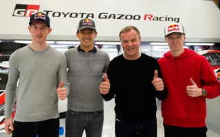 TOYOTA GAZOO Racing、2020年のWRC参戦ドライバーを決定。新たにオジエ、エバンス、ロバンペラの3選手を迎えてシーズンを戦う