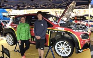 セントラルラリー:新井大輝、ワークス仕様のシトロエンC3 R5をドライブ