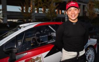セントラルラリー:初日、国際格式部門は勝田貴元が全SSベストでトップを快走