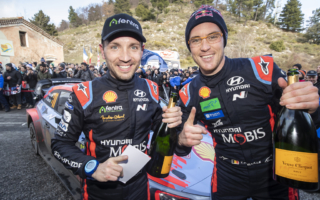 WRCモンテカルロ:ヌービル「今年の僕らはビッグスマイル」イベント後記者会見