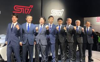 SUBARUとSTI、2020年の全日本ラリーに新井大輝など4ドライバーを支援