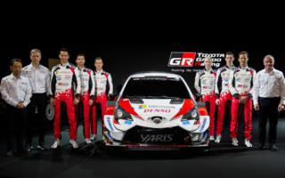 トヨタ、新生WRC参戦チームを日本でお披露目