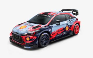 ヒュンダイがi20クーペWRCの2020年カラーリングを公開、タナックのナンバーは#8