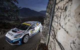 WRCモンテカルロ:WRC2、Mスポーツはフルモーが2位でフィニッシュ