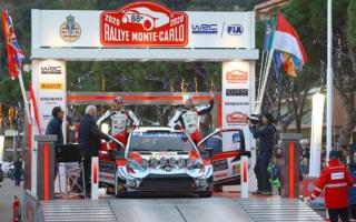WRCモンテカルロ:SS1でベストタイムのオジエが総合2位発進。エバンスは総合4位、ロバンペラは総合7位につける