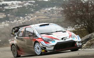 WRCモンテカルロ:オジエが首位、エバンスは総合2位に浮上。ヤリスWRCが計5本のベストタイムを奪取