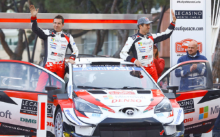 WRCモンテカルロ:新たなるドライバー体制で挑んだ開幕戦、オジエとエバンスがモナコのポディウムに立つ