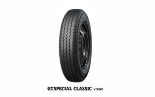 横浜ゴム、ヒストリックカー向けタイヤ「G.T.SPECIAL CLASSIC Y350」に新サイズを追加