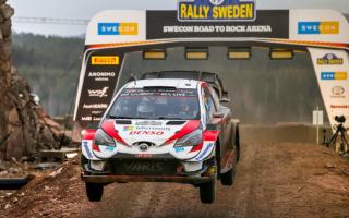 WRCスウェーデン:トヨタのエバンスが3ステージ連続ベストで首位堅持。オジエ総合3位、ロバンペラ4位