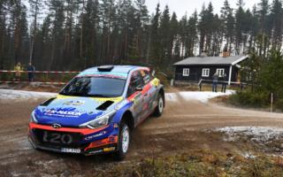 WRCスウェーデン:ラリー2勢トップはWRC3優勝のフッツネン