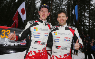 WRCスウェーデン:エバンス「トヨタでの、そしてスコットとの初勝利」デイ3コメント集