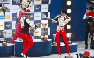 WRCスウェーデン:ロバンペラ「記録更新に挑みたい」イベント後記者会見