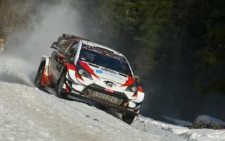 WRCスウェーデン:勝田貴元、厳しいコンディションのスウェーデンを総合9位で走破