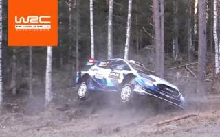 WRCスウェーデン:雪のないシェイクダウン、ハイライト動画