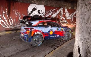 WRCメキシコ:初日のナイトステージ2本を終えて、トップはヌービル