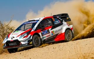 WRCメキシコ:競技2日目を終えてトヨタのオジエがリード