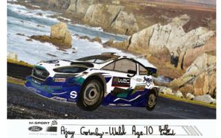 Mスポーツの塗り絵コンテスト、マルコム・ウィルソン選の作品が発表