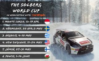 オリバー・ソルベルグがDiRT RALLY2.0でシリーズを開催、優勝者にラリースクール受講特典も