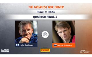 WRC.com「最も偉大なWRCドライバー決定戦」準々決勝 カンクネン対グロンホルムの投票を受付中