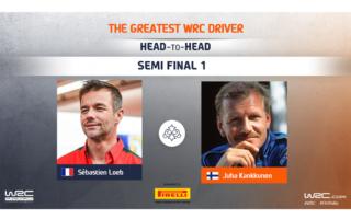 WRC.com「最も偉大なWRCドライバー決定戦」準決勝 ローブ対カンクネンの投票を受付中
