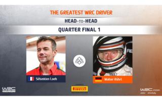 WRC.com「最も偉大なWRCドライバー決定戦」準々決勝 ローブ対ロールの投票を受付中