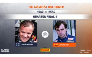 WRC.com「最も偉大なWRCドライバー決定戦」準々決勝 マキネン対サインツの投票を受付中