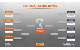 WRC.com「最も偉大なWRCドライバー決定戦」トーナメント組み合わせが確定