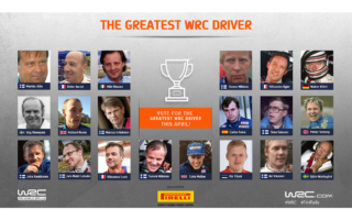 WRC.com「最も偉大なWRCドライバー決定戦トーナメント」開催