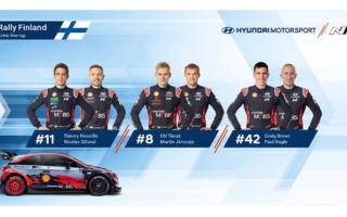 ヒュンダイ、WRCフィンランドのドライバーラインナップを発表