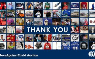 FIA チャリティオークション、ローブのレーシングスーツに168万円