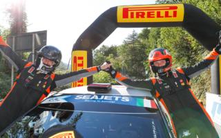 ERCローマ レグ2:ルキヤナク快勝、オリバーはERC1ジュニアでトップフィニッシュ