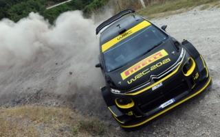 ピレリがサルディニアでWRC用タイヤのテストを開始