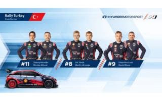 ヒュンダイがWRCトルコのラインナップを発表、ローブが今季2度目の参戦