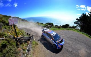WRCニュージーランドで使用予定だったSSのラリーにパッドンが参戦