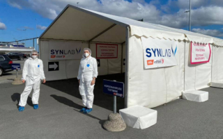 WRCエストニア、シェイクダウンステージにPCR検査パートナー名