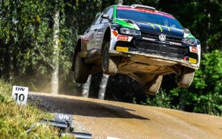 WRCエストニア:WRC3部門はオリバー・ソルベルグがトップ