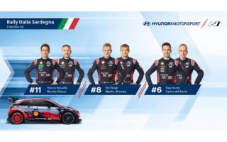 ヒュンダイ、WRC第6戦サルディニアの3台目はダニ・ソルドを起用