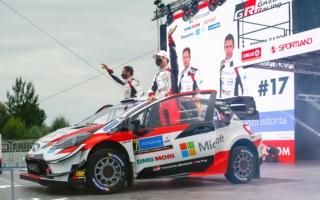 WRCエストニア:オジエがSS1でライバルとベストタイムを分け合う