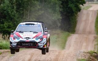 WRCエストニア:クレバーな戦いを続けたオジエが総合3位につけ、4台のヤリスWRCがトップ6に入る