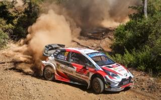 WRCトルコ:ベストタイムを記録したオジエが首位と1.3秒差の総合3位につける