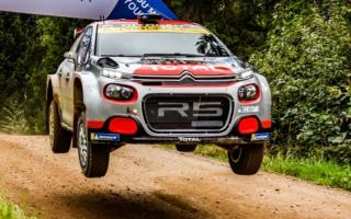 WRCエストニア:WRC2はマッズ・オストベルグが今季3勝目