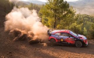 WRCトルコ:初日のSS2までを終えて、ヒュンダイのローブがトップ