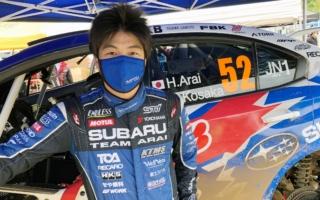 全日本ラリー北海道:初日、好調鎌田のトラブルもあり新井大輝が首位奪取
